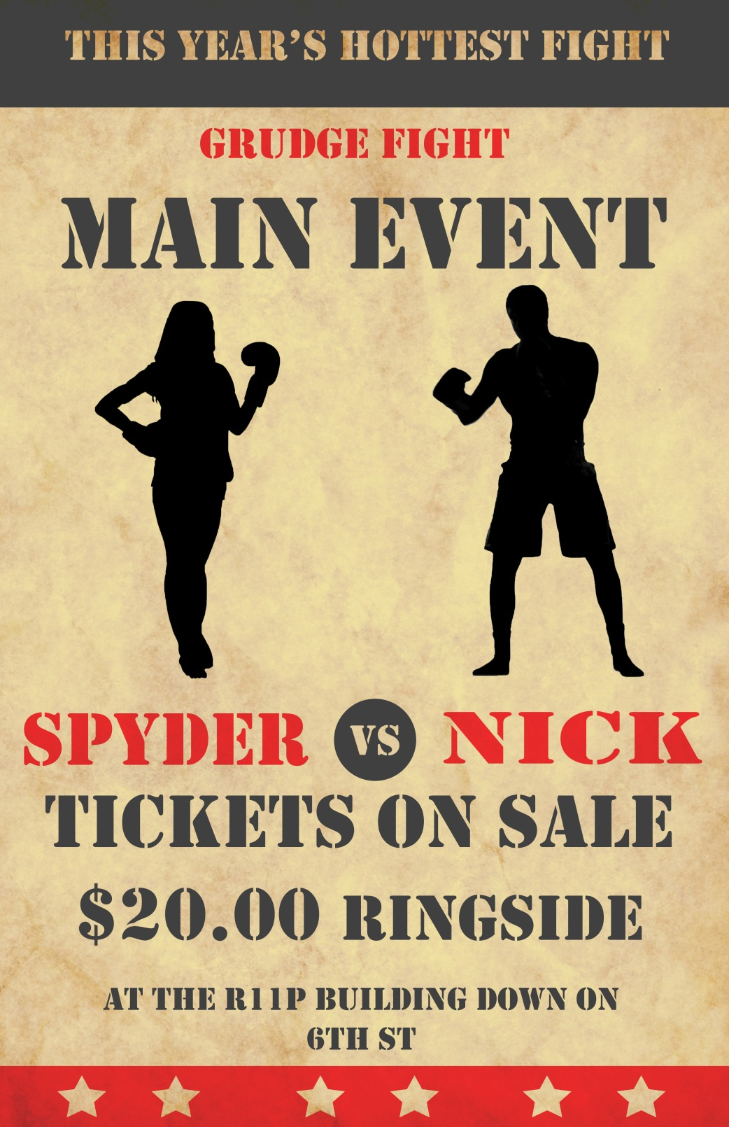 boxing poster 2